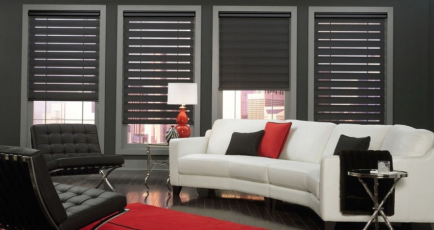 Blackout Lite Lines Shades
