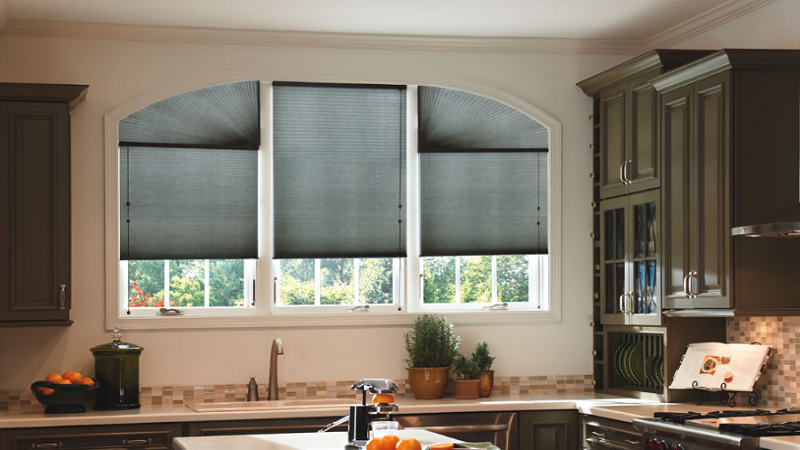Cellular Shades with Arch 2
