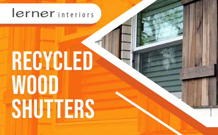Recycled Wood Shutters