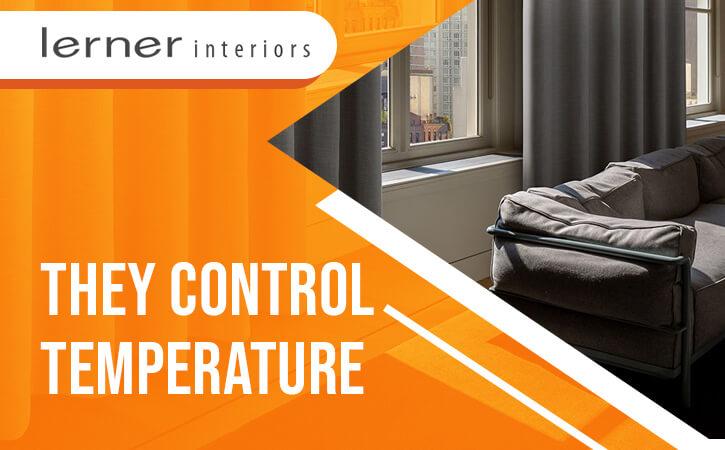 Blackout Drapes Control Temperature