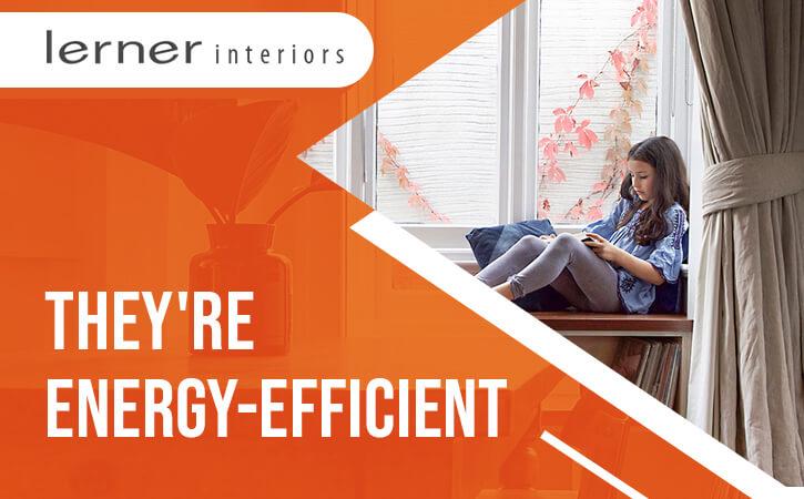 Blackout drapes are Energy Efficient