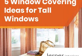 5 Window Covering Ideas for Tall Windows