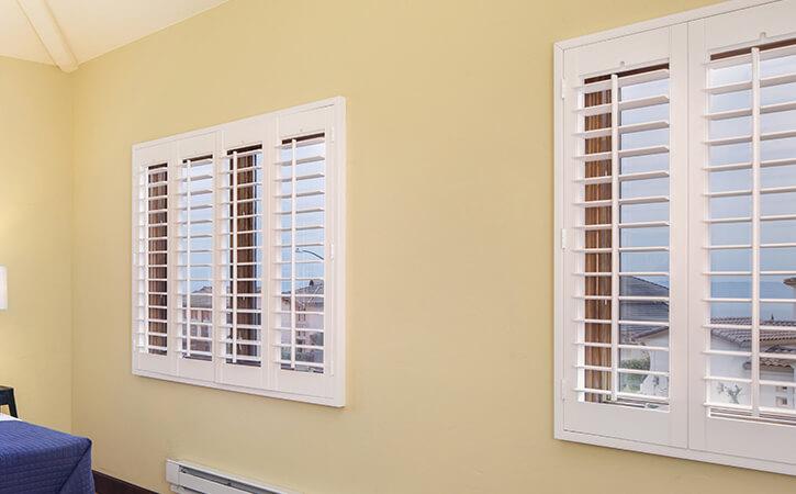 plantation shutters are customizable