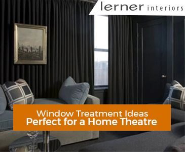 Home Theatre Window Treatment