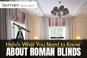 Know About Roman Blinds