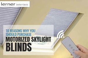 Purchase Motorized Skylight Blinds