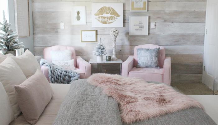 Cozy winter bed