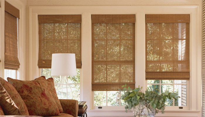 Blinds for tall windows