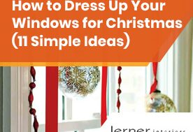 How to Dress Up Your Windows for Christmas (11 Simple Ideas)