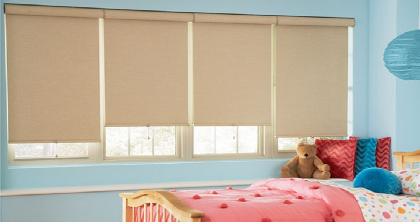 Blackout Roller Shades with Cassettes