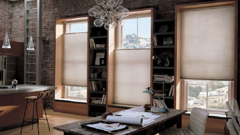 Honeycomb-shades-Office