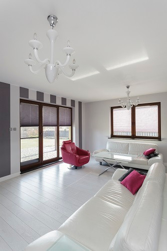 Vibrant cottage – living room
