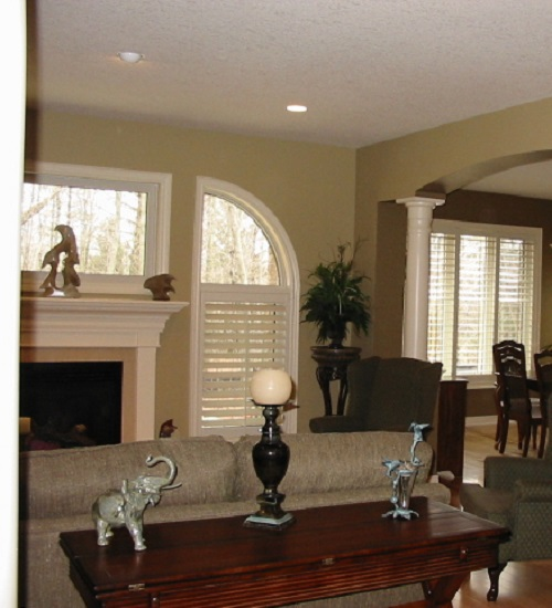 Plantation Custom Lacqured Finish Shutters
