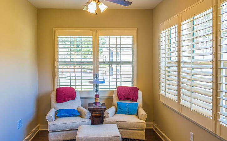 Plantation Shutters Offers Light Control