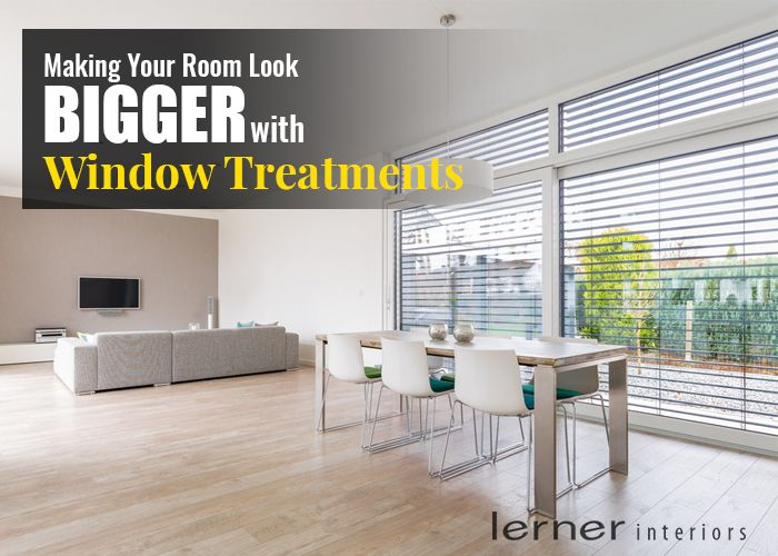 Making Your Room Look Bigger with Window Treatments