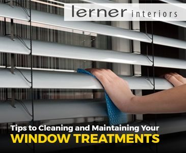 Tips to Cleaning and Maintaining Your Window Treatments 2