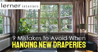 9 Mistakes to Avoid When Hanging New Draperies