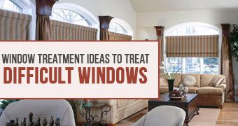 Stylish Coverings to Dress Odd Windows Anywhere in Your Home