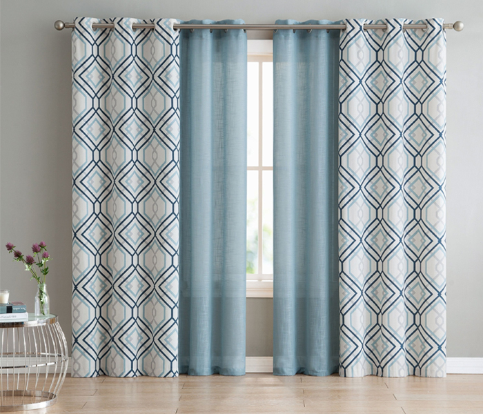 Beautiful polyester drapes