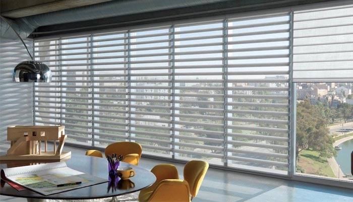 Commercial window shade
