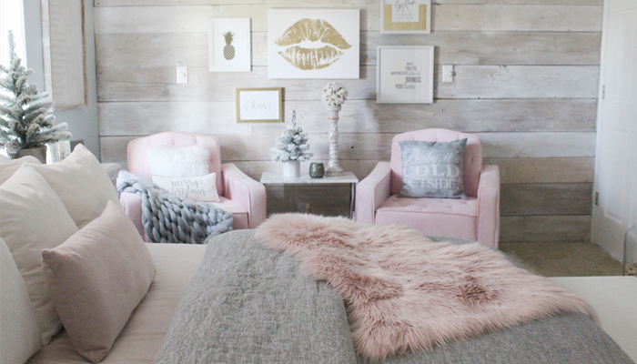 Cozy winter bed