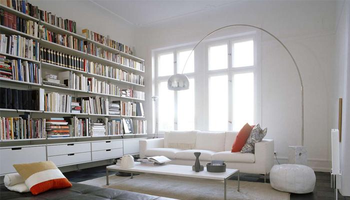 Re-organize bookcases